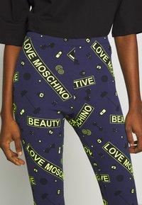 Love Moschino - Leggingsit - blu - 4
