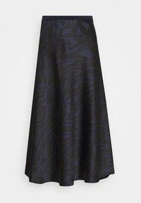 Soaked in Luxury - SLEDESSA SKIRT - A-line skirt - shadow/dark blue - 3