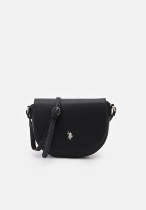 JONES FLAP BAG - Across body bag - black