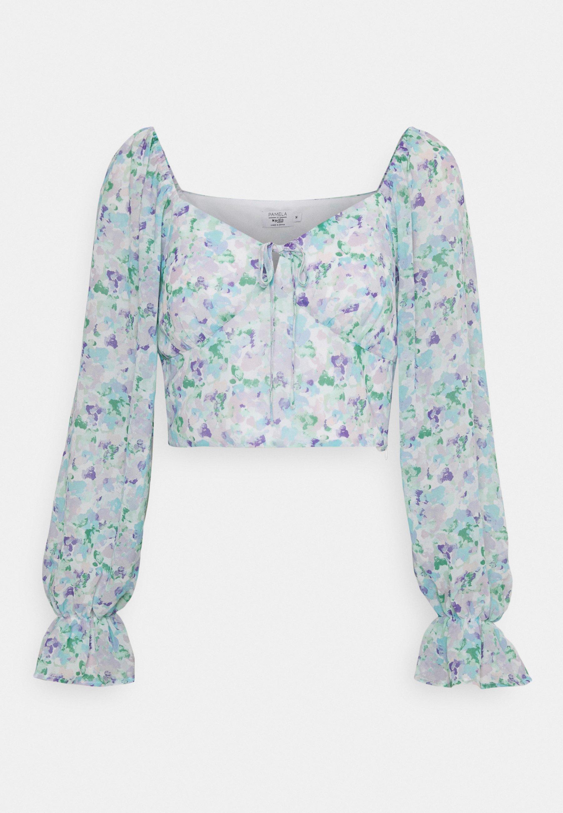 Damen TIE DETAIL LONG SLEEVE BLOUSE - Bluse