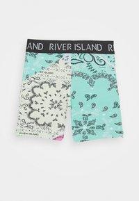 River Island - 2 PACK - Shorts - black - 1