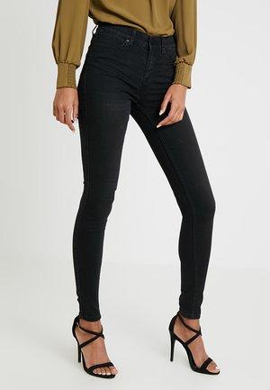 OBJSKINNYSOPHIE - Slim fit jeans - black denim