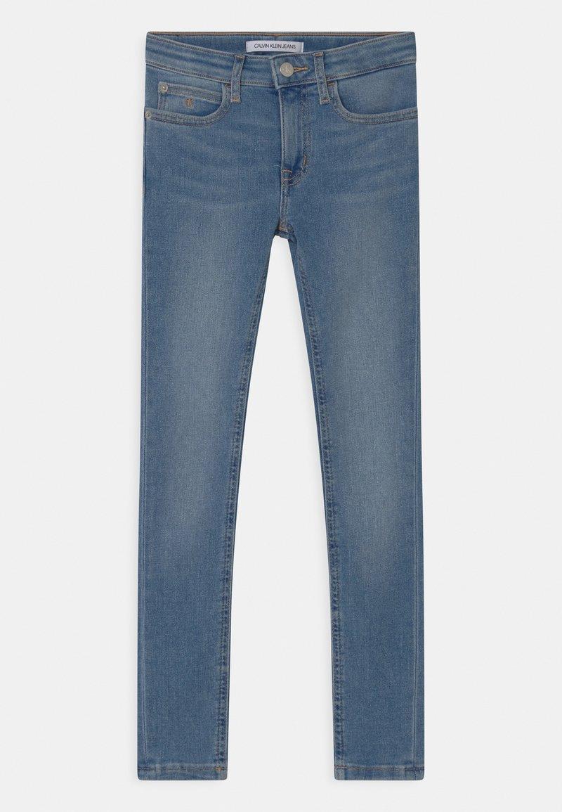 Calvin Klein Jeans - SUPER SKINNY  - Jeans Skinny Fit - blue