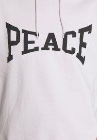 Topshop - PEACE HOODY - Sweatshirt - grey - 5