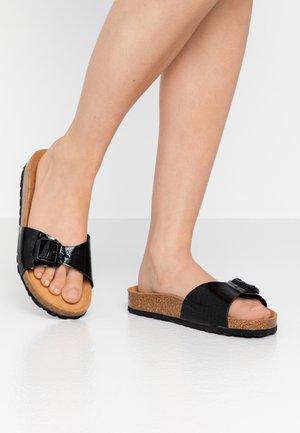 SLIDES - Slippers - black