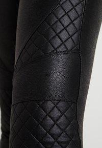 Spanx - QUILTED - Leggings - very black - 5