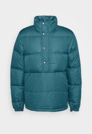 SIERRA ANORAK - Down jacket - mallard blue