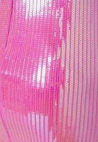 David Koma - Shift dress - white/pink - 7
