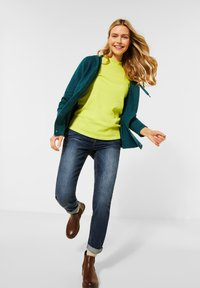 Cecil - FLEX  - Cardigan - atlantic green melange - 1