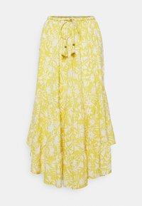 Thought - OTOMI TIERED SKIRT - A-line skirt - lemon yellow - 0