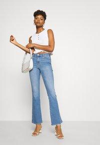 Dr.Denim - SONIQ - Flared Jeans - westcoast light blue - 1