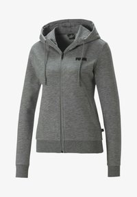 Puma - ESSENTIALS - Zip-up hoodie - light gray heather - 0