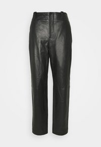 Alberta Ferretti - Leather trousers - black - 4