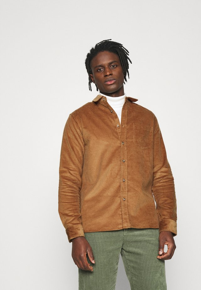MICROS TOBACCO - Shirt - brown