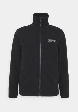 PATCH UNISEX - Zip-up hoodie - black