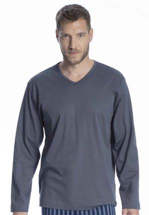 LANGARMSHIRT - Pyjama top - soft grey