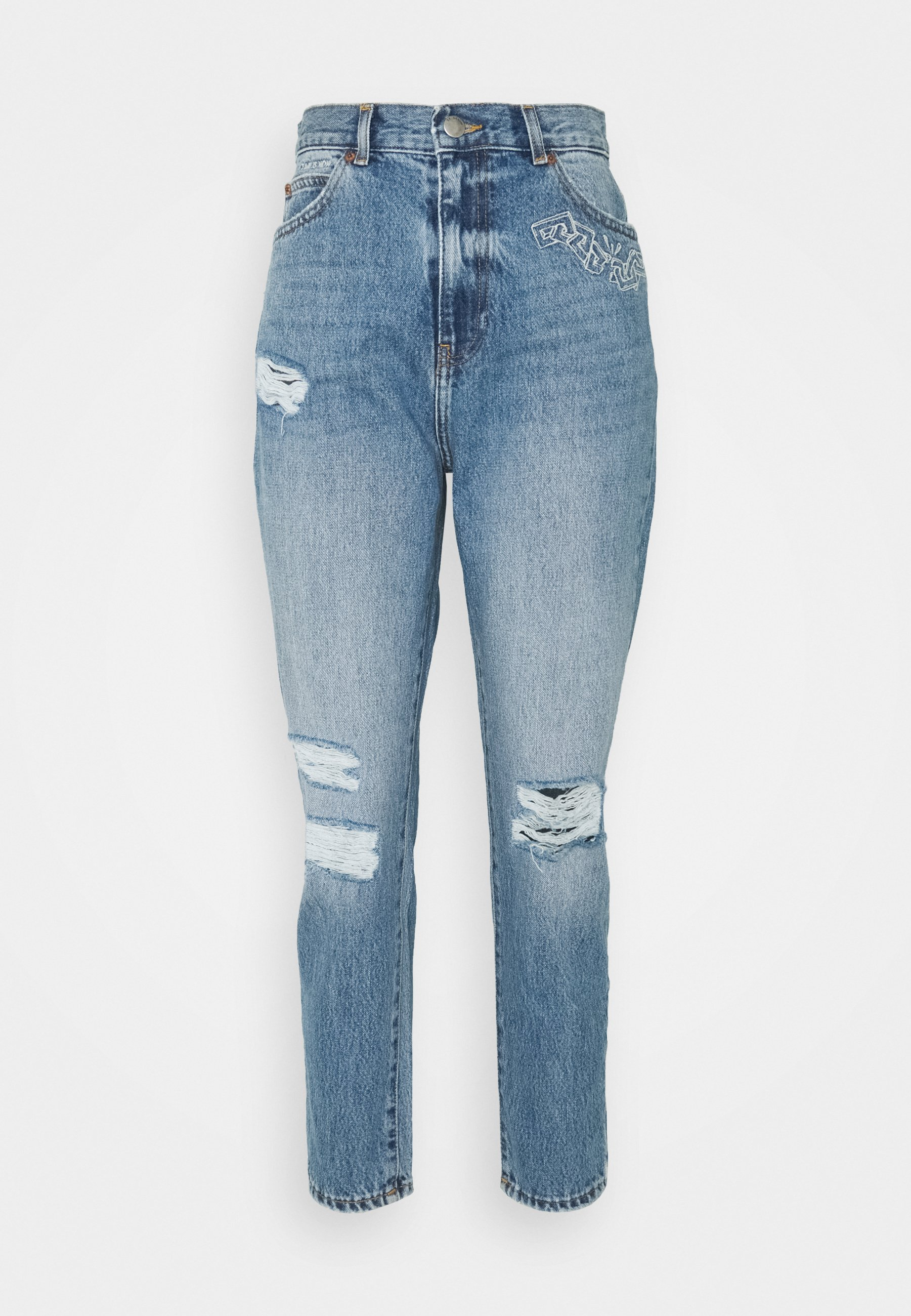 Women NORA CHAIN - Jeans Tapered Fit
