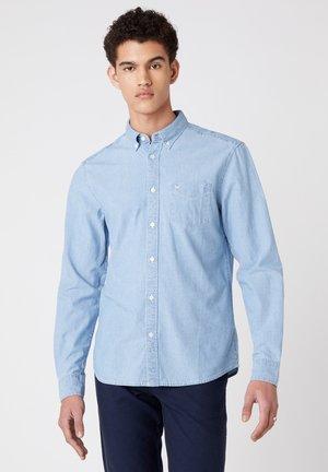 LS 1PKT - Shirt - light indigo