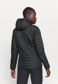 Columbia - POWDER LITE HOODED JACKET - Winter jacket - black - 2
