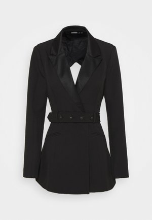 TAILORED OPEN BACK - Żakiet - black