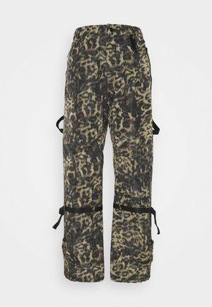Trousers - stampa fondo nero