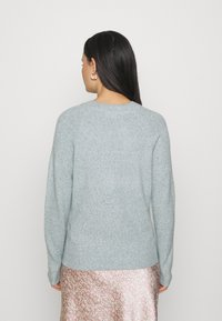 Vero Moda - VMDOFFY O NECK - Jumper - north atlantic/melange - 2