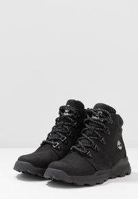 Timberland - BROOKLYN HIKER - Lace-up ankle boots - black - 3