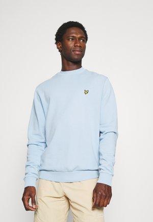 WASHED CREW NECK - Sweater - fresh blue