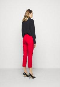 Lauren Ralph Lauren - PANT - Leggings - Trousers - orient red - 2