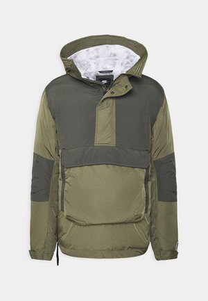 Winterjacke - medium olive/black