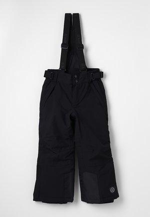 GAUROR UNISEX - Spodnie narciarskie - schwarz