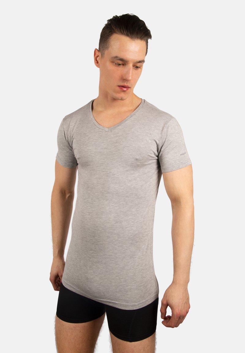 Bandoo Underwear - 2PACK  - Undershirt - grey, dark grey