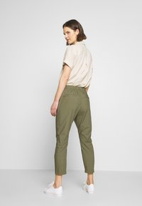Marc O'Polo - RYGGE - Trousers - soaked moss - 2