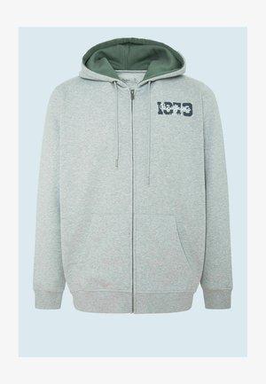 HERMAN - Zip-up sweatshirt - gris marl