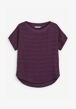 Print T-shirt - berry
