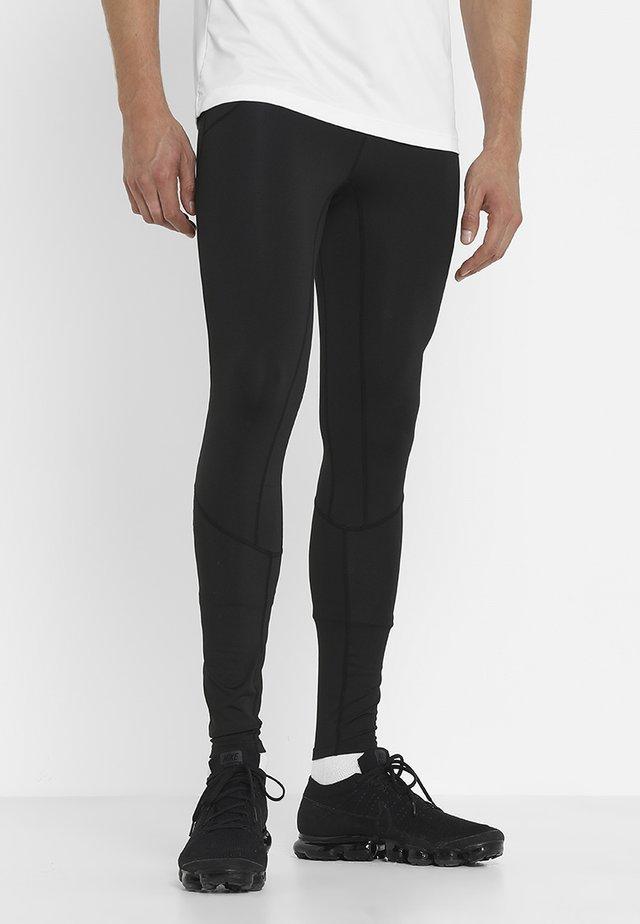 AIDAN - Teplákové kalhoty - black beauty