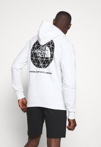 The North Face - GEODOME HOODIE  - Hoodie - white - 0