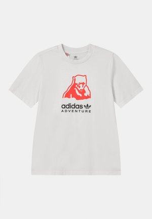 ORIGINALS ADVENTURE T-SHIRT RELAXED - Camiseta estampada - cloud white