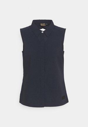 ALNA - Button-down blouse - dark blue
