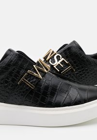 TWINSET - LOGO LETTERING - Slip-ons - nero - 4