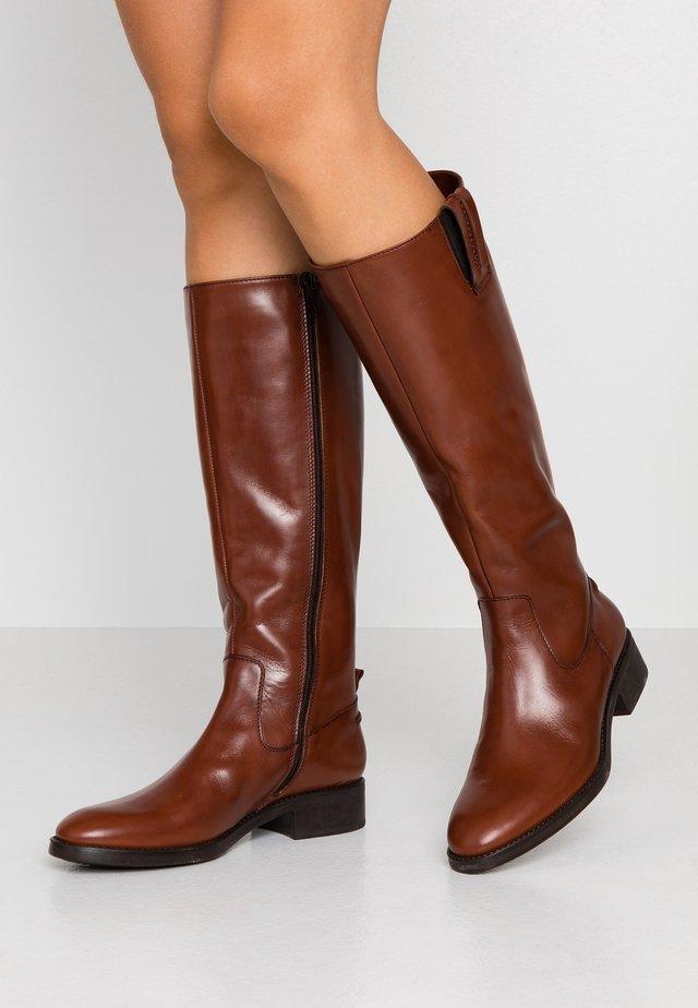 PANDA - Høje støvler/ Støvler - macchiato/wisky