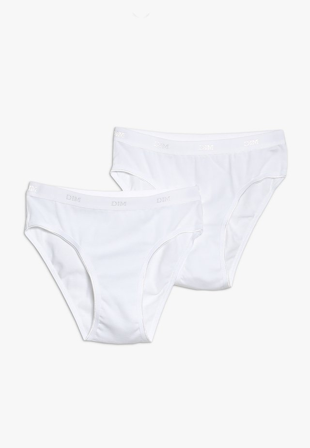 CULOTTE 2 PACK - Briefs - blanc