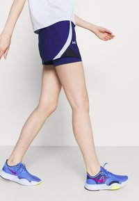 Under Armour - PLAY UP SHORTS - Pantaloncini sportivi - blue - 3