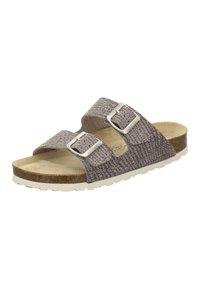 AFS Schuhe - ZWEISCHNALLER - Slippers - sand - 2