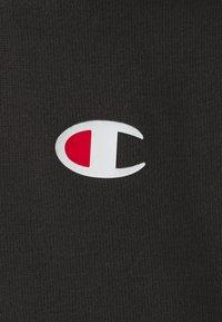 Champion - CUFFED PANTS - Tracksuit bottoms - black - 6
