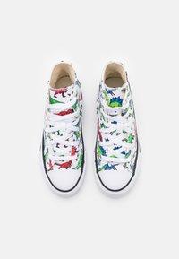 Converse - CHUCK TAYLOR ALL STAR DIGITAL DINOVERSE UNISEX - Sneakers hoog - white/bold wasabi/digital blue - 3