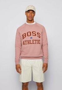 BOSS - STEDMAN_RA - Sweater - light pink - 0