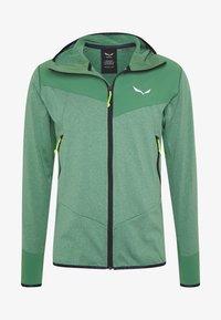 AGNER HYBRID - Outdoorová bunda - feldspar green