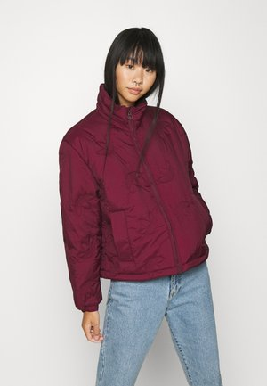 TREFOIL PUFFER WINTER MIDWEIGHT - Winter jacket - maroon
