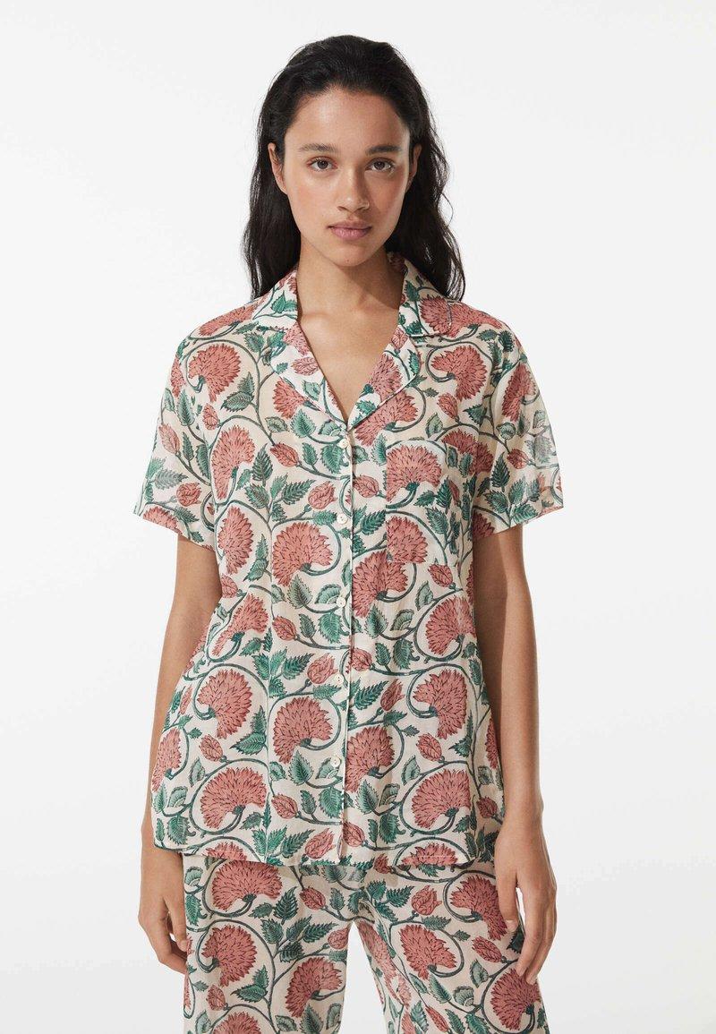 OYSHO - Pyjama top - multi-coloured
